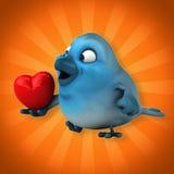 Blue bird Stock Image