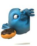 Blue bird Royalty Free Stock Image