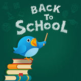 Blue Bird Back To School Stock Images