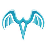 Blue Bird Icon Royalty Free Stock Photography