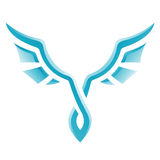 Blue Bird Icon Royalty Free Stock Images