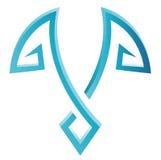Blue Bird Icon Stock Photos