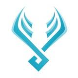 Blue Bird Icon Royalty Free Stock Photo