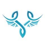 Blue Bird Icon Stock Photography