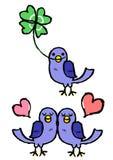 Blue birds Royalty Free Stock Photography