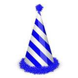 Blue birthday cap Royalty Free Stock Photo