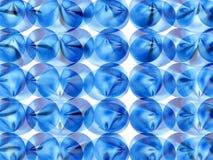 Blue bites Stock Image