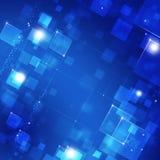 Blue Biz Background Royalty Free Stock Images