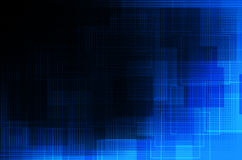 Blue and black abstract background Royalty Free Stock Photo