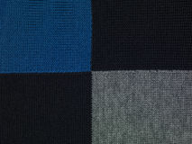 Blue, black and grey checkered background royalty free stock image