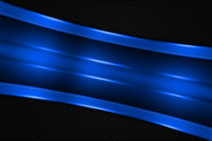 Blue and black metal background Royalty Free Stock Photo