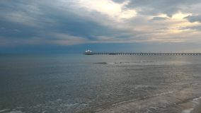 Blue, Black Sea. Amazing view of the Black Sea and it& x27;s calm mood Stock Images
