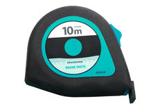 Blue - black tapemeasure. New condition. Royalty Free Stock Image