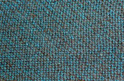 Blue black threads in fabric stock photo