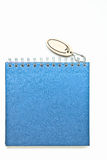 Blue blank book, Diary Royalty Free Stock Photography