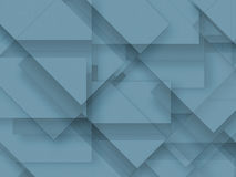 Blue blank paper background material - design element Royalty Free Stock Photo