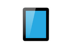Blue Blank Tablet Screen Royalty Free Stock Images