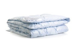 Blue blanket Royalty Free Stock Image
