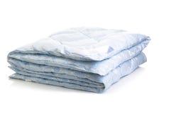 Blue blanket Stock Photos