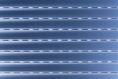 Blue blind. Horizontal blind in blue, for abstract background Stock Images
