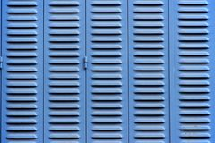 Blue blinds royalty free stock photography