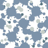 Blue blobs seamless Royalty Free Stock Images
