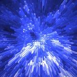 Blue blocks. Abstract shiny blue blocks background Royalty Free Stock Image