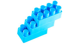 Blue blocks. Royalty Free Stock Photos