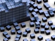 Blue blocks Stock Photos