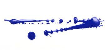 Blue blot Stock Photos