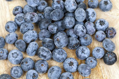 Blue blueberries closeup Royalty Free Stock Photography