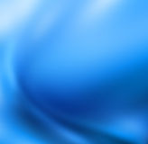 Blue blur abstract background Stock Images