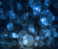 Blue blur abstract sparkles background Stock Photos