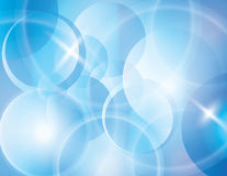 Blue blur abstract vector background Stock Image
