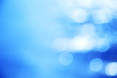 Blue blur background from river Stock Images