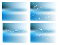 Blue blur background Stock Image