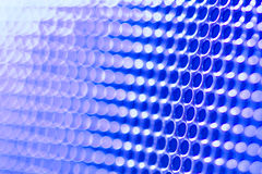 Blue blur fence abstract background Stock Photo