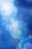 Blue blur lights  background Stock Photo