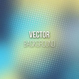 Blue Blurred Background With Halftone Effect Royalty Free Stock Photo