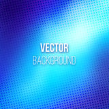 Blue Blurred Background With Halftone Effect Royalty Free Stock Image