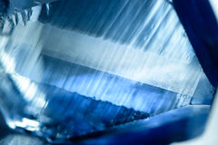Blue blurred crystal texture Stock Photo