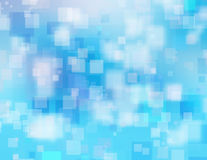 Blue blurry background with bokeh Royalty Free Stock Photography