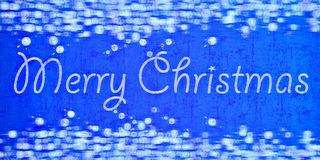 Blue blurry xmas textured background Royalty Free Stock Photos