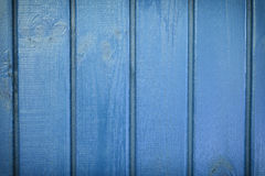 Blue boards background Stock Photography