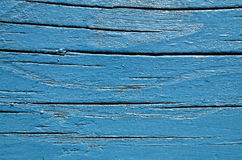 Blue boards. With dark rows Stock Photography