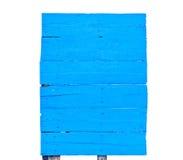 Blue boards Stock Photos