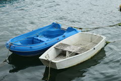 Blue boat Royalty Free Stock Image