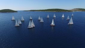 Blue, Boats, Daylight Stock Image