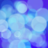 Blue bokeh. A square background with bokeh effect Stock Photos