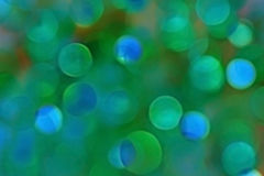 Blue bokeh Royalty Free Stock Photo